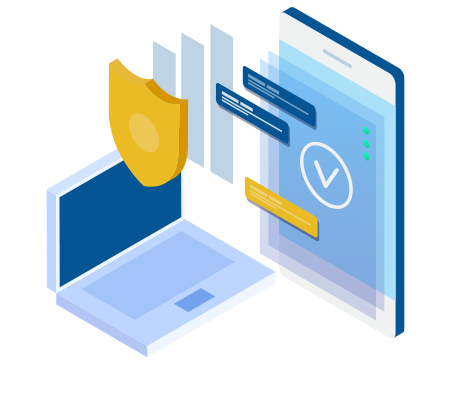 Secure, centralised trade transaction reporting icon