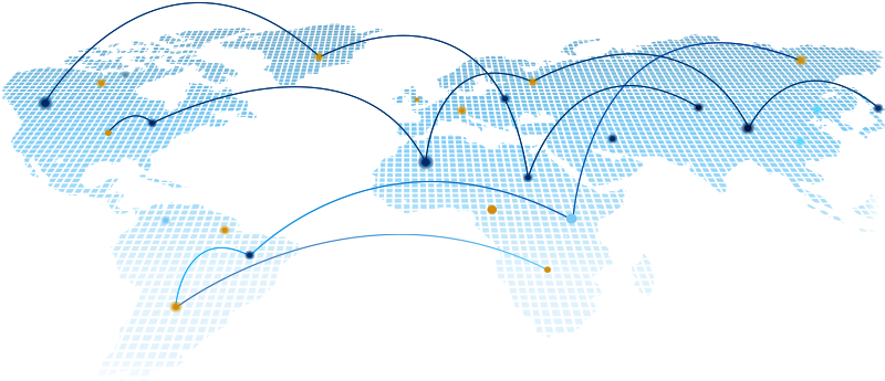 Connected Global Trade Finance Network